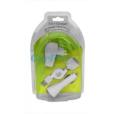 Adaptér 3v1 - mini USB