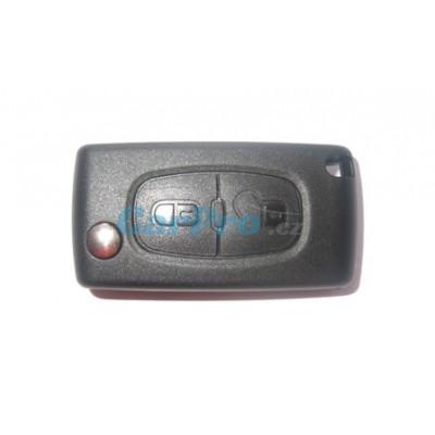 Peugeot obal klíče 2 tlačítka