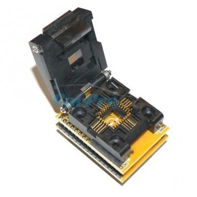 Adapter PLCC32 - DIP32 s paticí ZIF